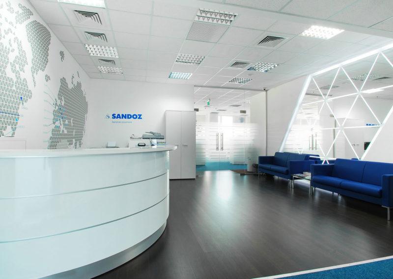 Офис компании Sandoz