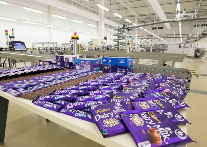 Mondelez company moved to a new office - October 2016 - 2000 m2